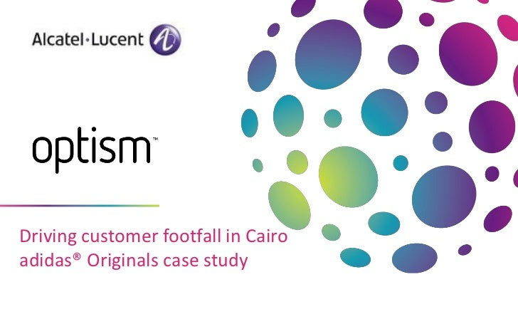 Driving customer footfall in Cairo  adidas® Originals case study