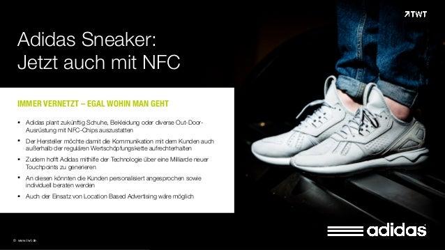 TWT Trendradar: Adidas Sneaker mit NFC Chips