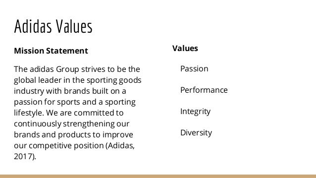 Nike Inc Mission Statement >> Adidas vs.nike