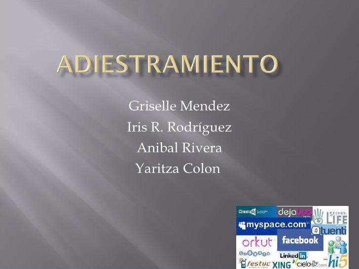Griselle Mendez Iris R. Rodríguez Anibal Rivera Yaritza Colon