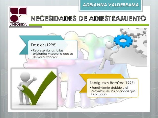 Elaboración de un plan de adiestramiento Slide 2