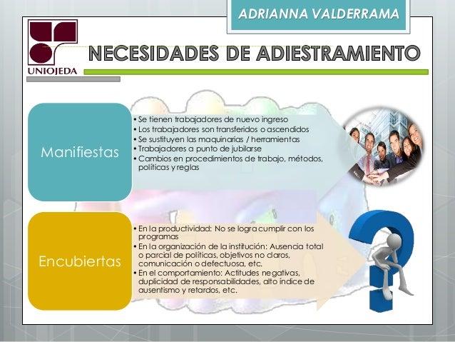 Elaboración de un plan de adiestramiento Slide 3