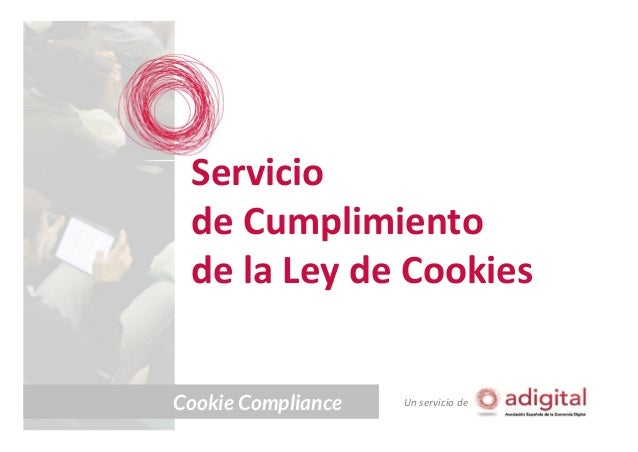 Servicio de Cumplimiento de la Ley de Cookies Cookie Compliance  Un servicio de