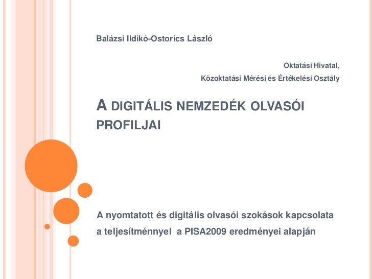Balázsi Ildikó-Ostorics László                                                 Oktatási Hivatal,                          ...