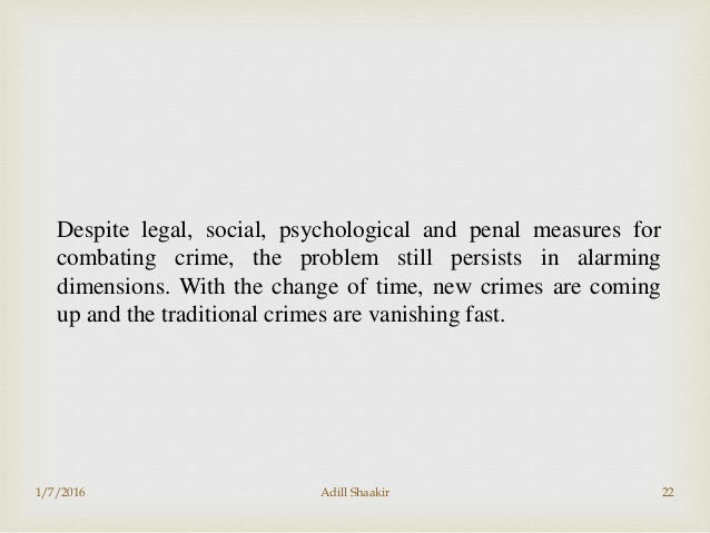 the real causes of crime on society Home modern studies crime and the law in society causes and types of crime modern studies causes and back next types of crime property crime includes.