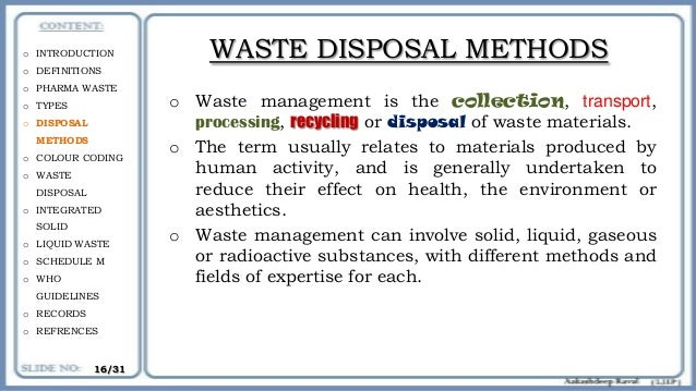 thesis on hospital waste management in india