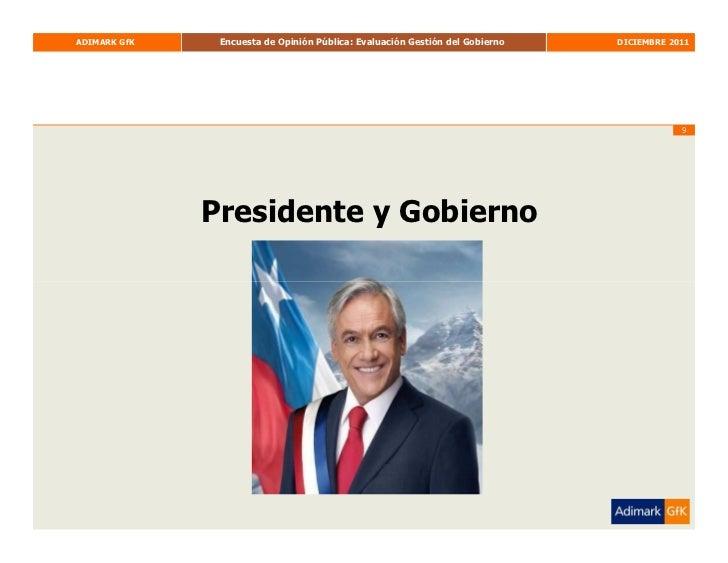 Adimark Diciembre Slide 9