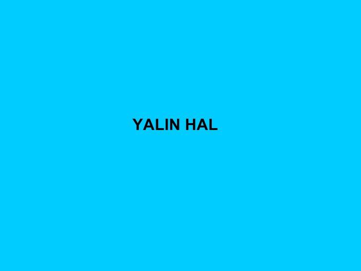 YALIN HAL