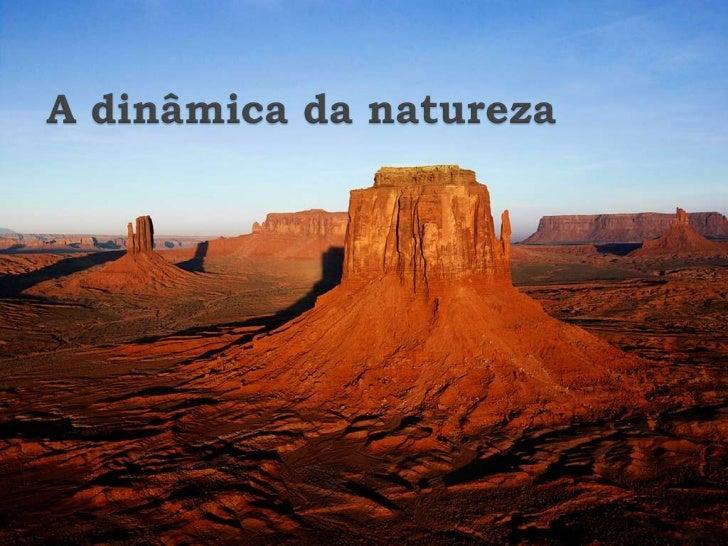 A dinâmica da natureza<br />