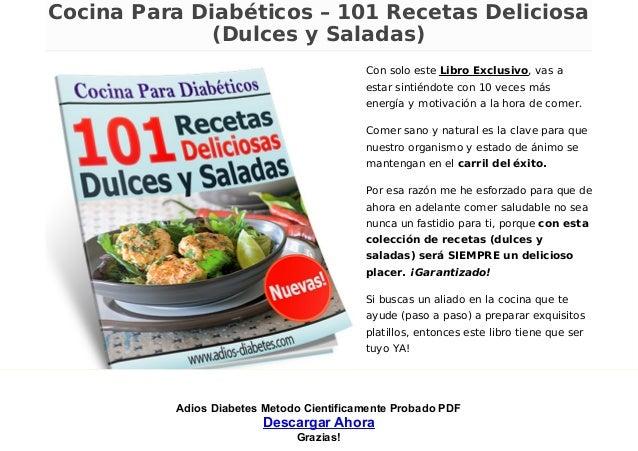 Adios Diabetes Metodo Cientificamente Probado PDF