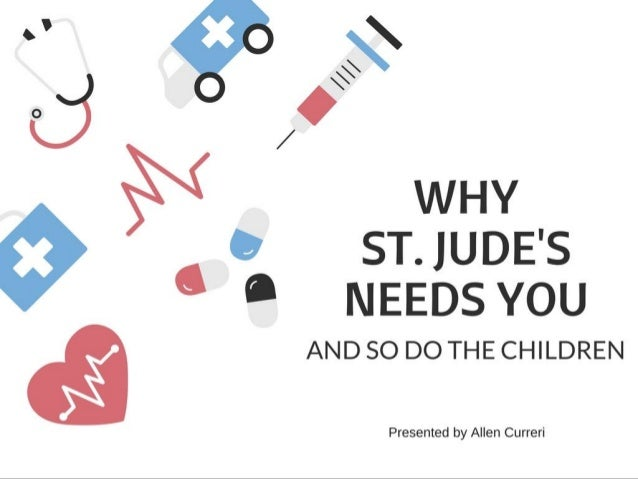 Why Saint Jude's Needs YOU, And So Do the Children