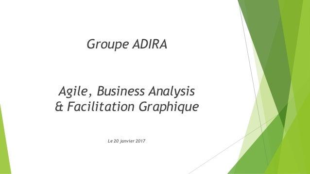 Groupe ADIRA Agile, Business Analysis & Facilitation Graphique Le 20 janvier 2017