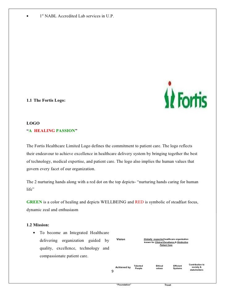 fortis lab reports online