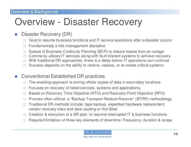 a disaster tolerant cloud computing model as a disaster survival meth u2026