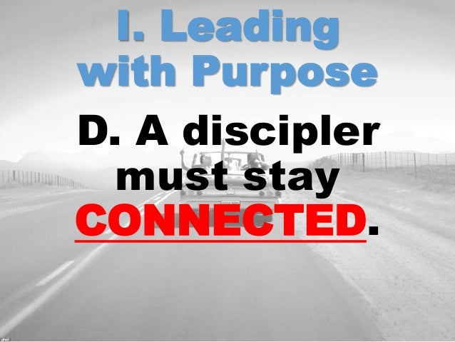 discipler and disciple relationship