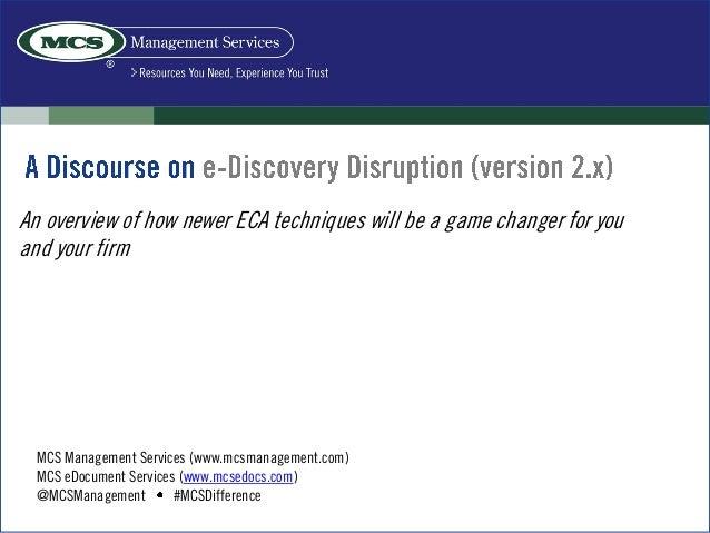 MCS Management Services (www.mcsmanagement.com)MCS eDocument Services (www.mcsedocs.com)@MCSManagement #MCSDifferenceAn ov...