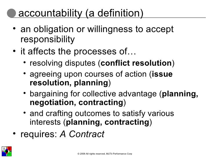 definition responsibility 13062018  can you define personal responsibility  (as opposed to having the government impose a definition)  get all of your answers here.