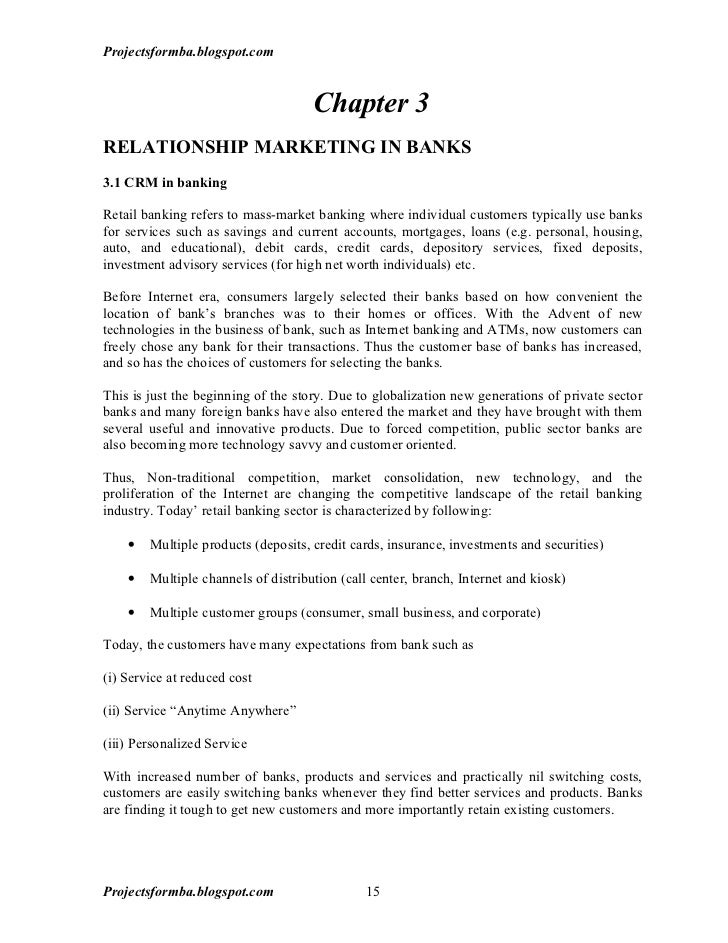 Customer relationship management phd thesis