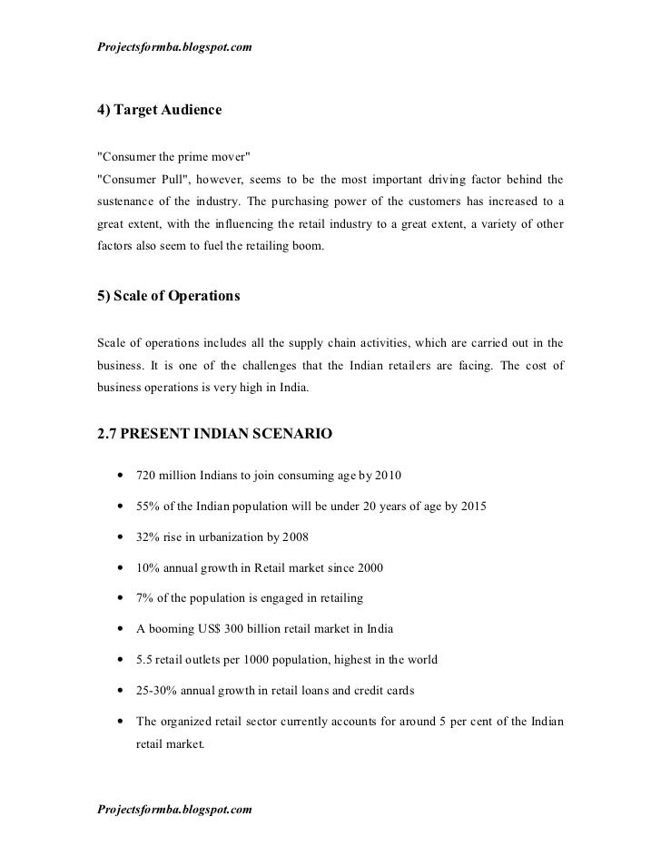 Phd thesis on retailing