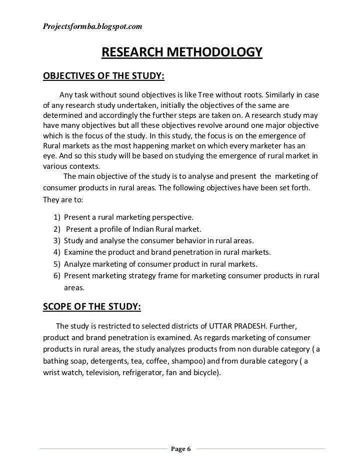 sample mba thesis topics