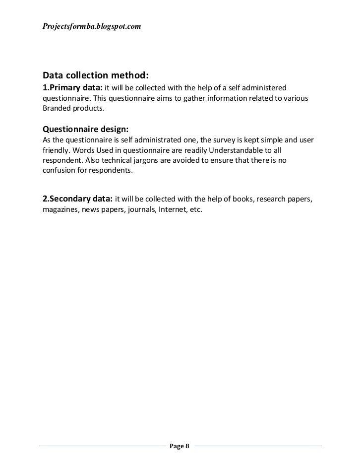 Dissertation report direct marketing
