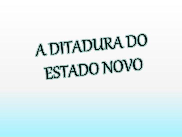 Repressão política, mudanças na economia brasileira e conquistas dos trabalhadores marcaram o período do Estado Novo.