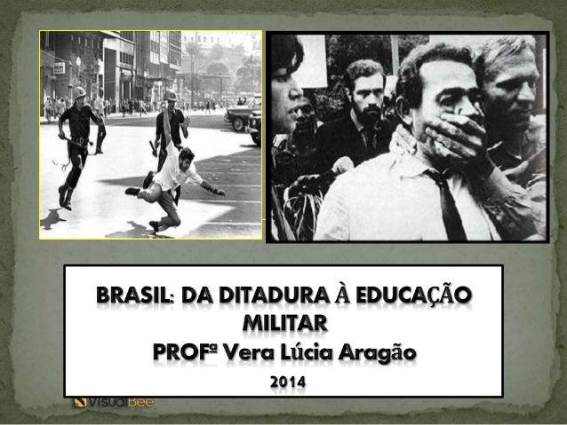  Ditadura é um tipo de governo, onde o ditador possui poder e autoridade absoluta. Na ditadura, todos os poderes do Estad...