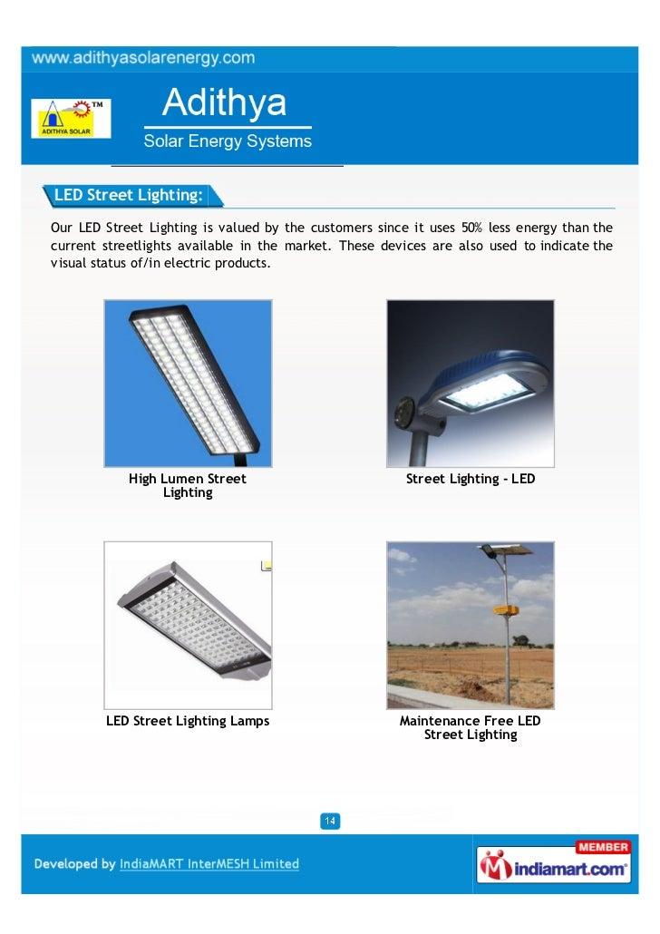 Adithya Solar Energy Systems Hyderabad Solar Products