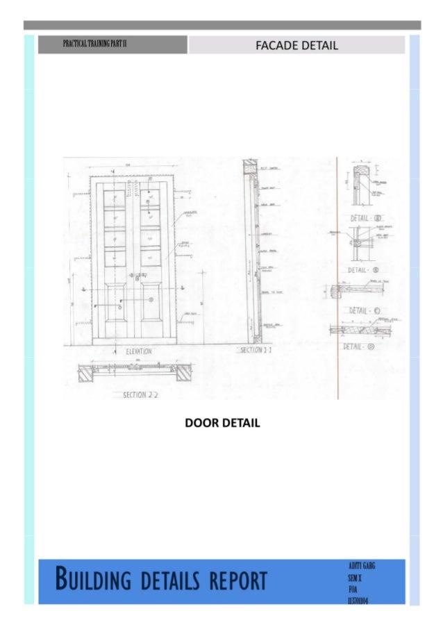 Building construction-Building detail study report Slide 3
