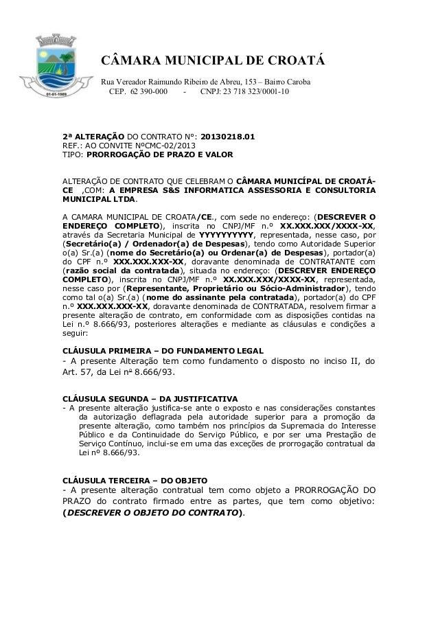 CÂMARA MUNICIPAL DE CROATÁ Rua Vereador Raimundo Ribeiro de Abreu, 153 – Bairro Caroba CEP. 62 390-000 - CNPJ: 23 718 323/...