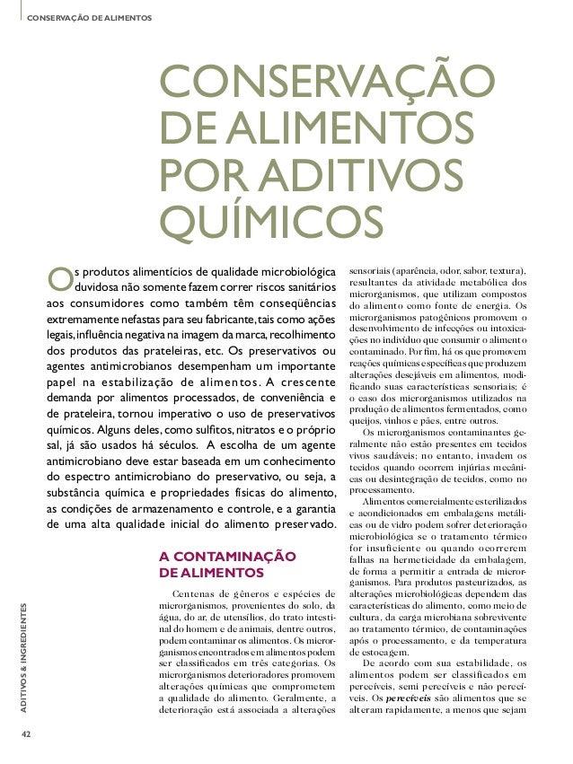 CONSERVAÇÃO DE ALIMENTOS                                                 CONSERVAÇÃO                                      ...