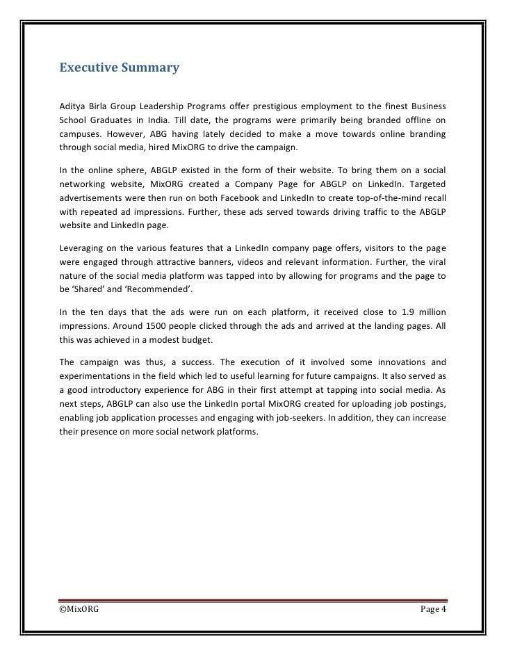Case Study on Aditya Birla Group 1234679455868499 2