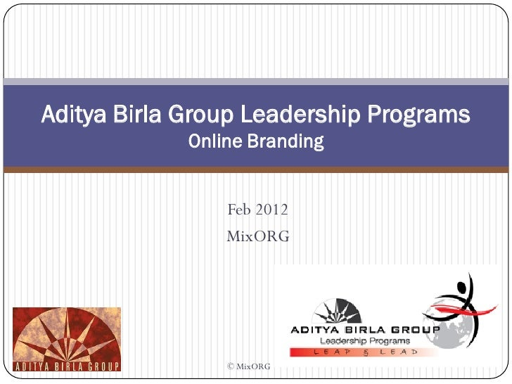 aditya birla case study Case study:- godrej group about godrej group  case study:- adani  group about adani group  case study:- aditya birla nuvo about  aditya.