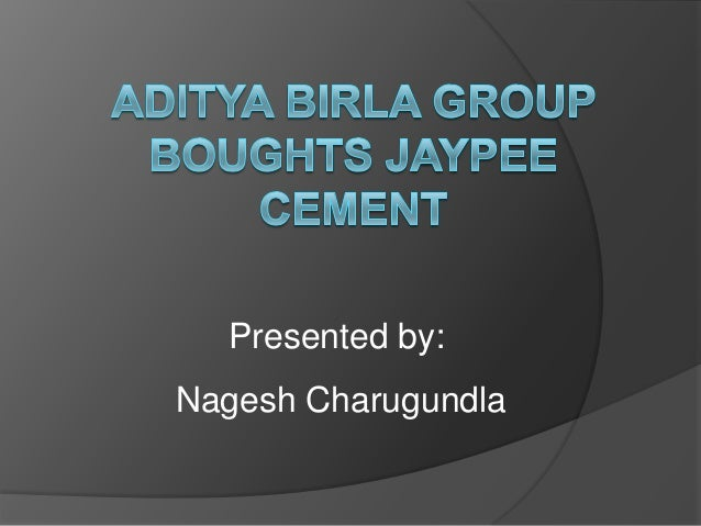 aditya birla group to buy jaypees guj cement for rs 3800cr
