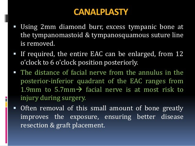 Canal wall up mastoidectomy
