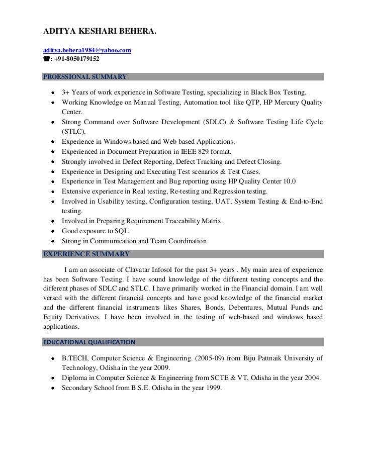 ADITYA KESHARI BEHERA.aditya.behera1984@yahoo.com: +91-8050179152PROESSIONAL SUMMARY      3+ Years of work experience in ...