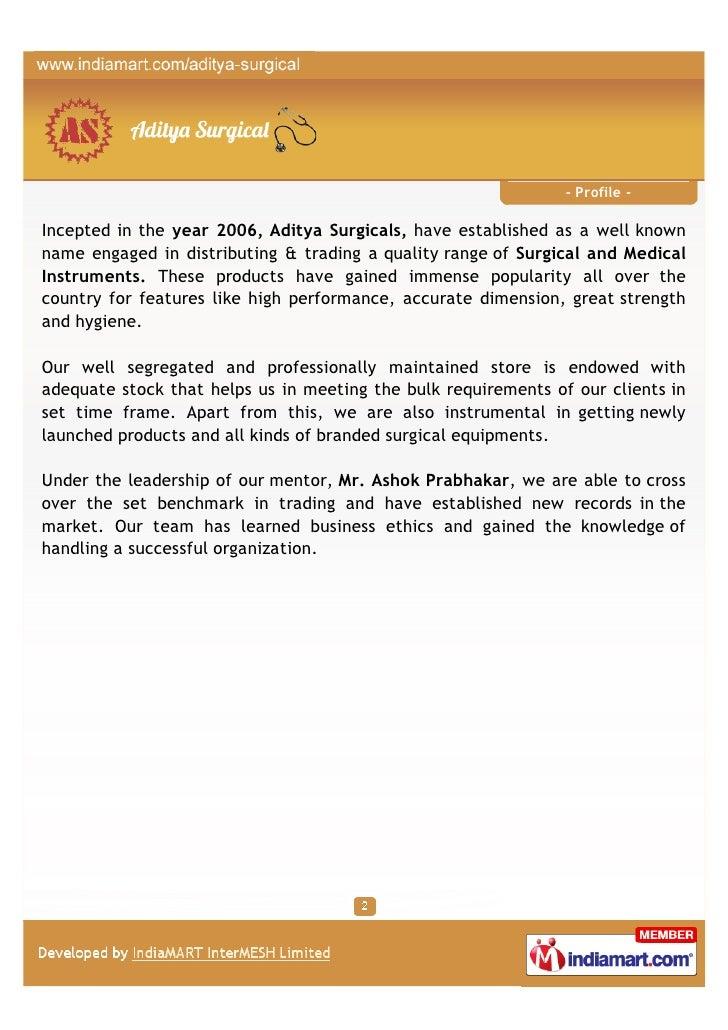 Aditya Surgical, Chandigarh, Littmann Stethoscope Slide 2
