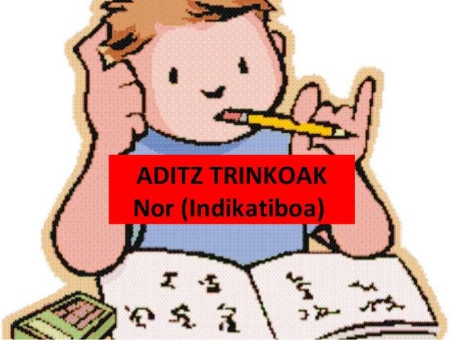 ADITZ TRINKOAKNor (Indikatiboa)