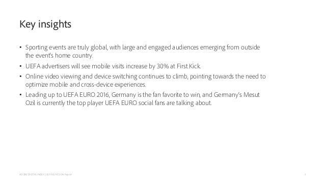 Adobe Digital Index UEFA Euro 2016 Report Slide 3