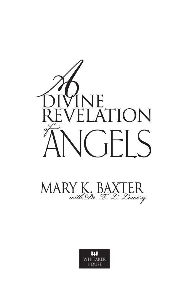 A divine revelation of angels mary k baxter