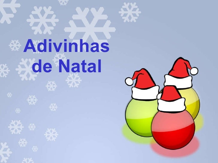 Adivinhas de Natal