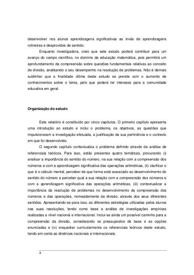 Qual a finalidade do relatorio