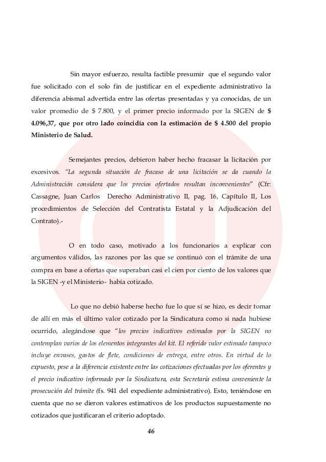 Procesamiento de Aníbal Fernández y otros funcionarios