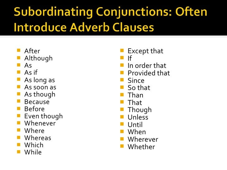 Adjective Adverb Clauses