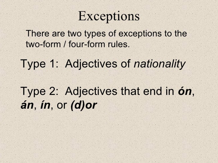 Adjective Agreement Spanish Class Activities