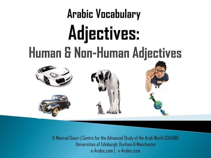 © Mourad Diouri | Centre for the Advanced Study of the Arab World (CASAW)             Universities of Edinburgh, Durham & ...