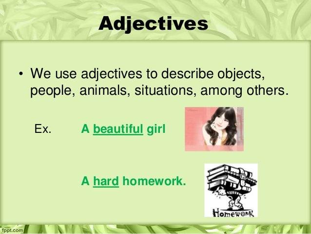 Adjectives Slide 2