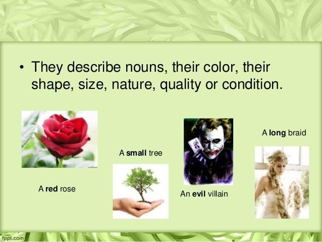 Adjectives Slide 3