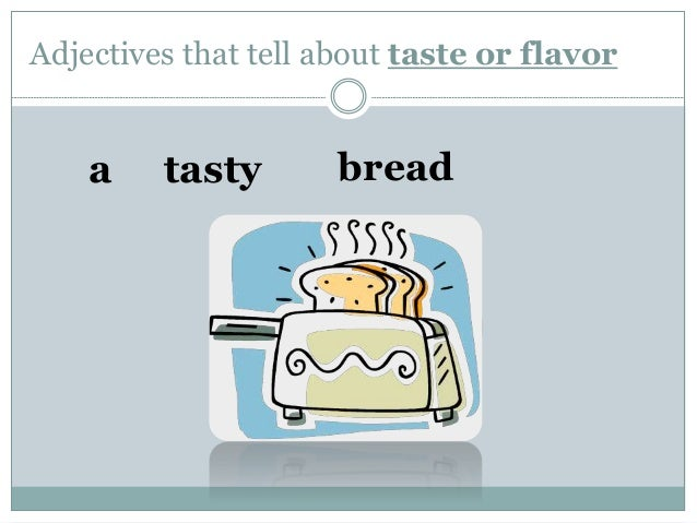 Worksheets Lesson For Grade 2 adjectives lesson for grade 2 students that tell about taste or flavor a breadtasty