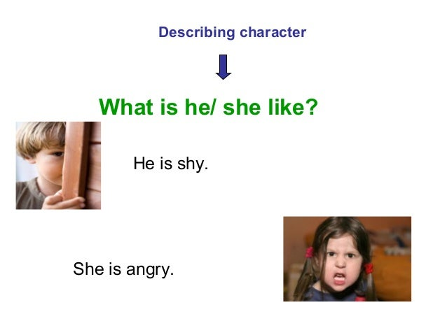 descriptive essay appearance and character